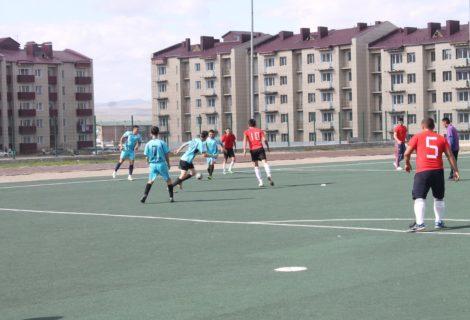Стартовал осенний чемпионат мини-футбольной лиги Тувы