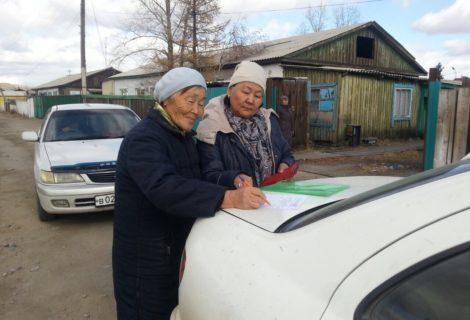 Коммунисты с агитацией посетили южные районы Тувы. ФОТОРЕПОРТАЖ