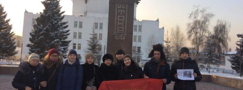 Комсомол Кызыла принял участие в круглом столе, посвященном Дню рождения Салчака Калбакхорековича Тока