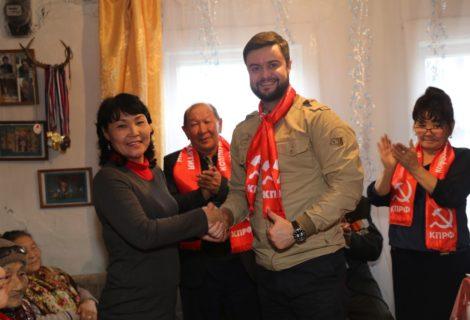 ТУВИНСКИЙ РЕСКОМ ВОССОЗДАЛ МЕСТНОЕ ОТДЕЛЕНИЕ КПРФ.
