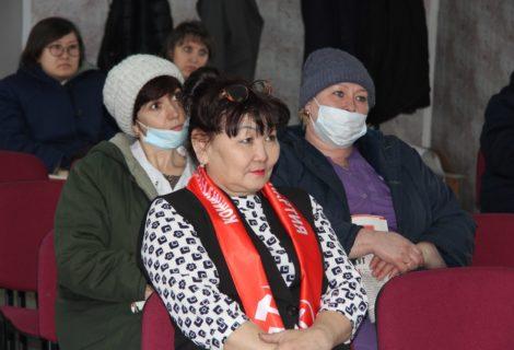Коммунисты Кызыла организовали встречу в поддержку Павла Николаевича Грудинина в Реснаркодиспансере.