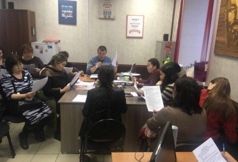 В Кызыле прошло первое заседание школы наблюдателей КПРФ