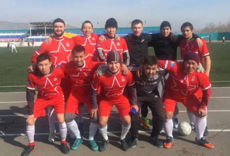 Турнир по футболу выявил самые сильные команды республики Тува.