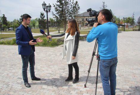 Руководитель Туврескома КПРФ Роман Тамоев дал обширное интервью телеканалу «Россия».