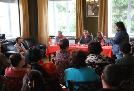 В Кызыл с рабочим визитом прибыла делегация Центрального Комитета КПРФ