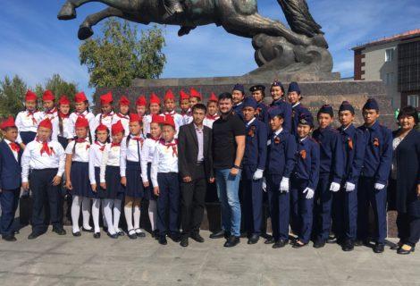 Поздравление Романа Тамоева с Международным Днём защиты детей.