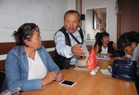 В Кызыле прошло первое в истории республики заседание Совета секретарей районных и городских организаций КПРФ