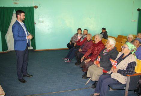 Коммунисты Тувы встретились с ветеранами.