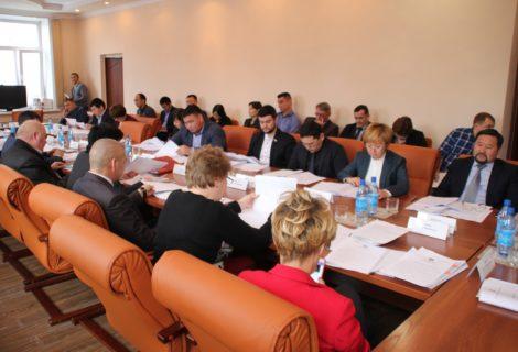Состоялась V очередная сессия Хурала представителей города Кызыла.