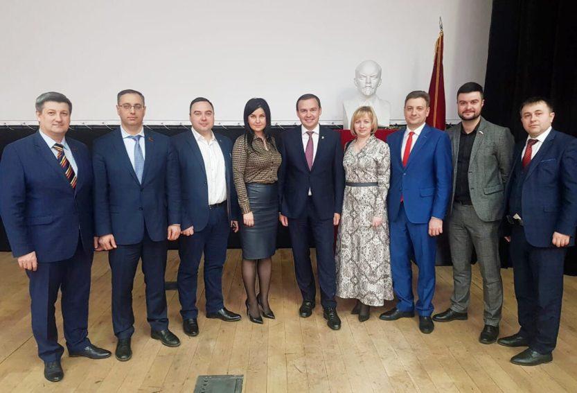 Cеминар-совещание первых секретарей региональных отделений КПРФ.