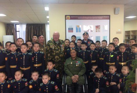 Урок мужетсва для курсантов Президентского кадесткого училища.