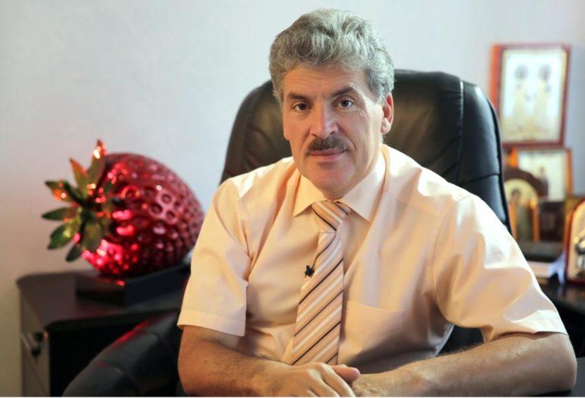 ЦК КПРФ: Место Жореса Алферова в Госдуме займет Павел Грудинин.