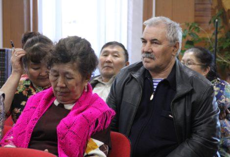 Собрание Восточного районного отделения КПРФ города Кызыла.