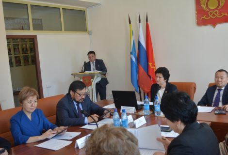 Состоялась VIII сессия Хурала представителей города Кызыла.