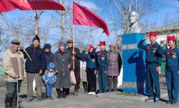 Бай-Тайгинцы — Ленину!