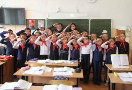 Говорим о пионерии — встреча со школьниками в Кызыле.