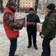 Тувинский обком ЛКСМ организовал массовую раздачу газеты «КРАСНАЯ ТУВА»