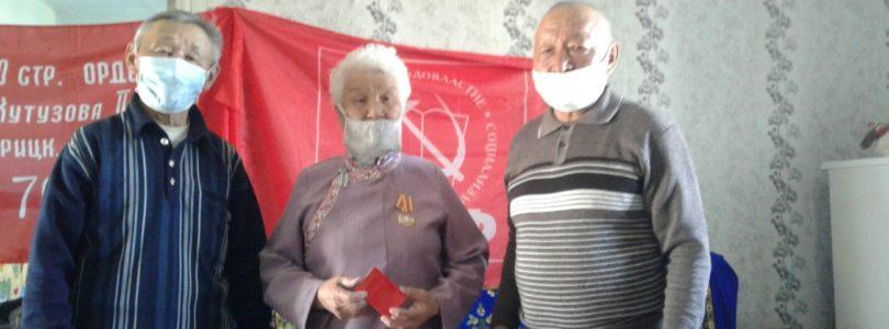 Бай-Тайга: награды ветеранам КПРФ