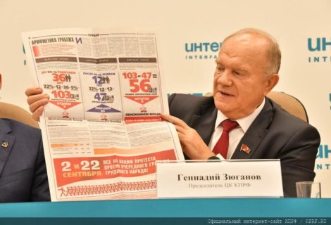 Новая политическая реальность и задачи КПРФ в борьбе за интересы трудящихся.