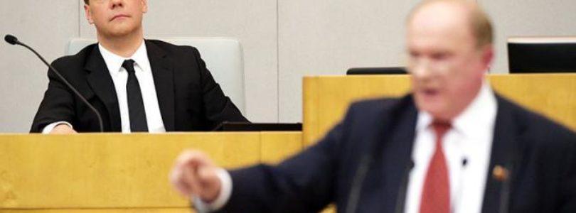 Свободная Пресса. Геннадий Зюганов: «Единая Россия «жахнула» доверие к выборам и политической системе.