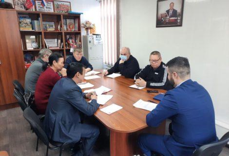 Состоялось очередное заседание Бюро Туврескома КПРФ